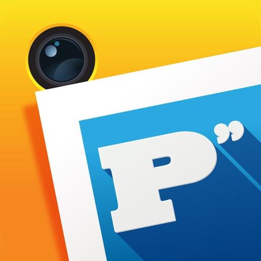 Photo-Phrase- the ORIGINAL typography Editor & Font Swag Machine iOS App