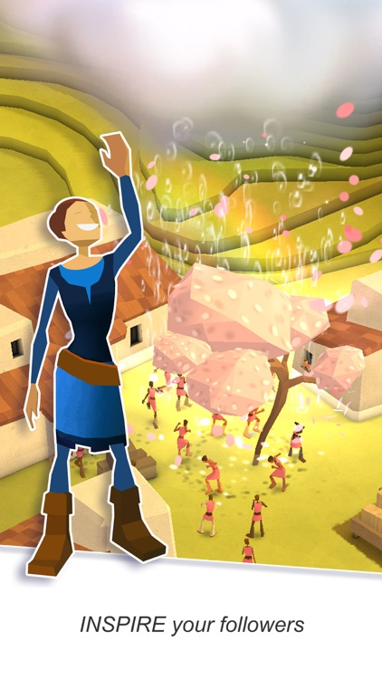 Godus screenshot-1
