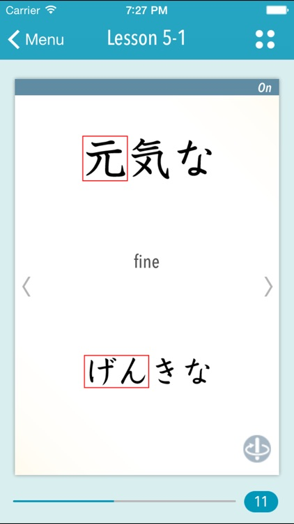 GENKI Kanji Cards