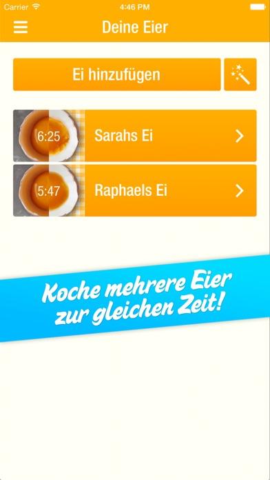 Screenshot for EggMaster – Die durchdachte Eieruhr in Germany App Store