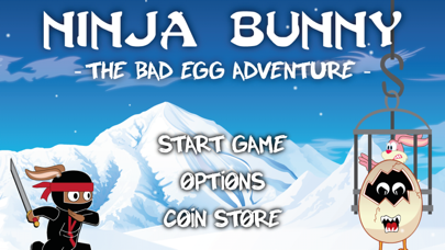 Ninja Bunny - The Bad Egg Adventure - screenshot one