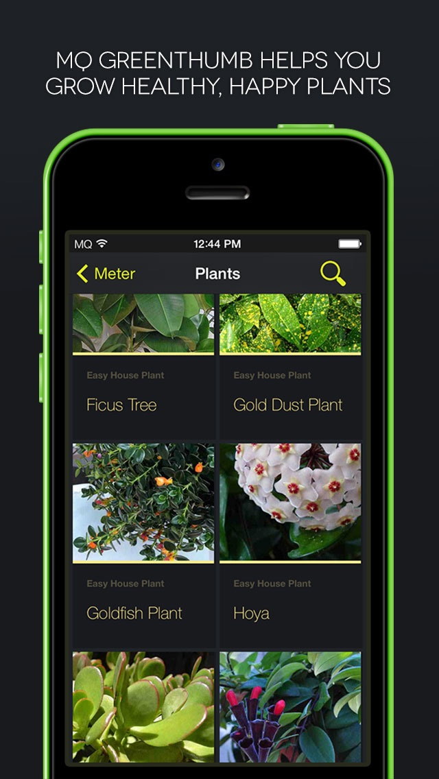 MQ GreenThumb Screenshot on iOS