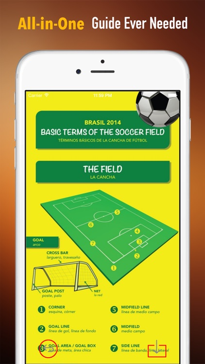 Soccer 101: Quick Learning Reference with Video Lessons and Glossary screenshot-1