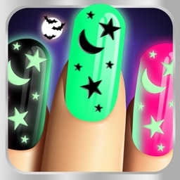 Glow Nails: Monster Manicure - Neon Nail Makeover Game