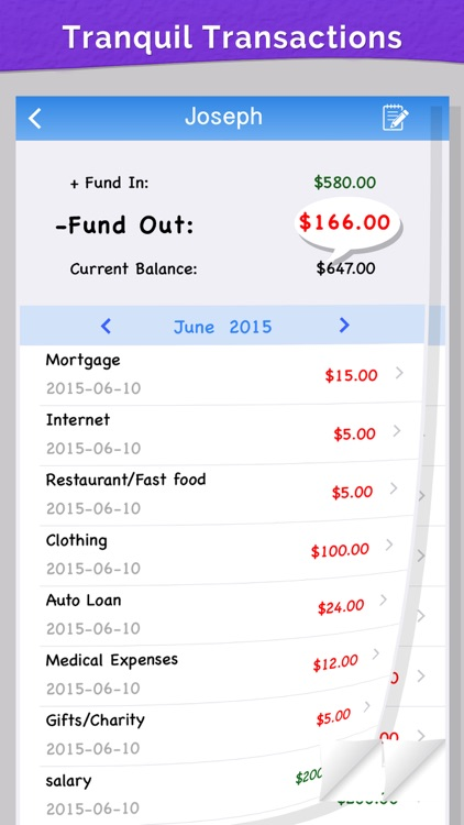 Home Budget on Go screenshot-4