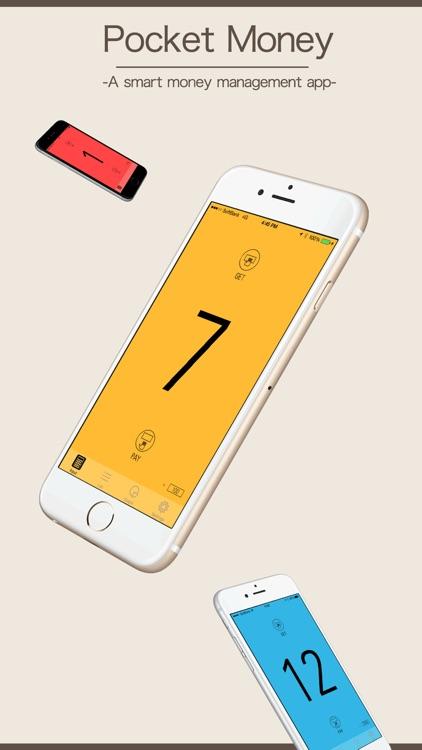 Pocket Money - budget app - screenshot-0