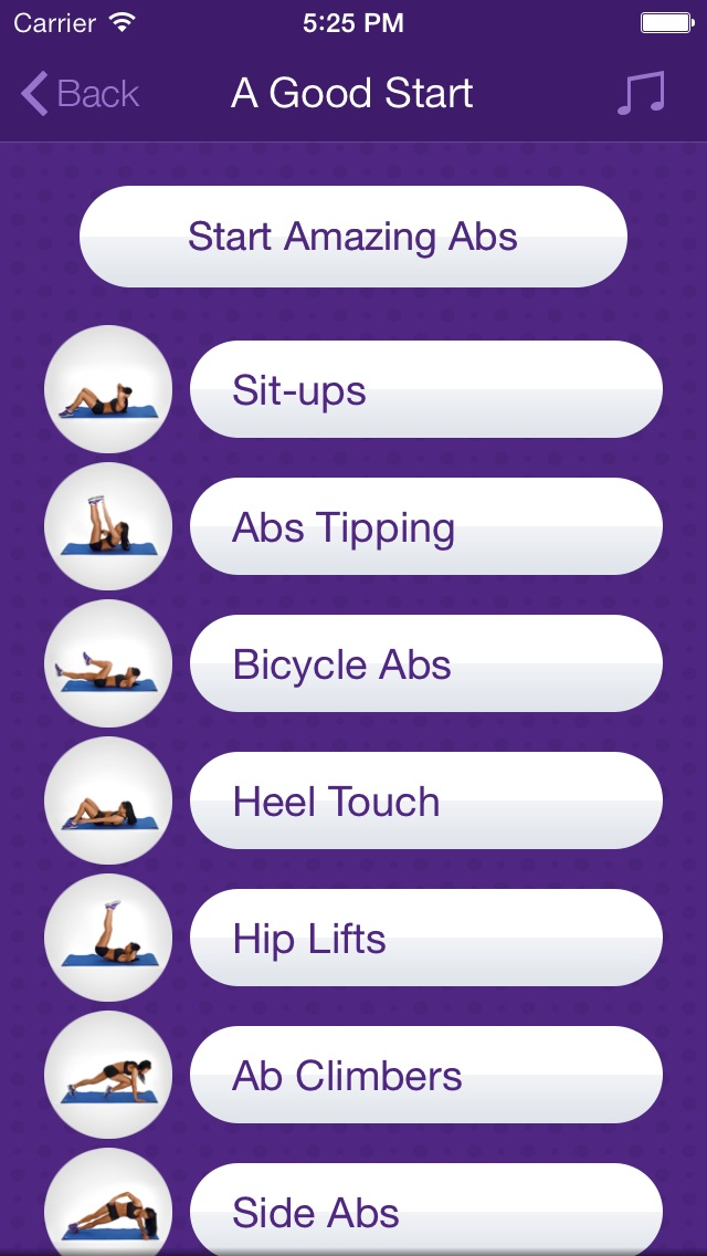 Amazing Abs – Personal Fitness Trainer App – Daily Workout Video Training Program for Flat Belly and Calorie Burn-1