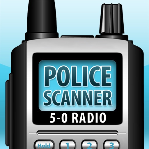 5-0 Radio Pro Police Scanner (Extra Feeds) app logo