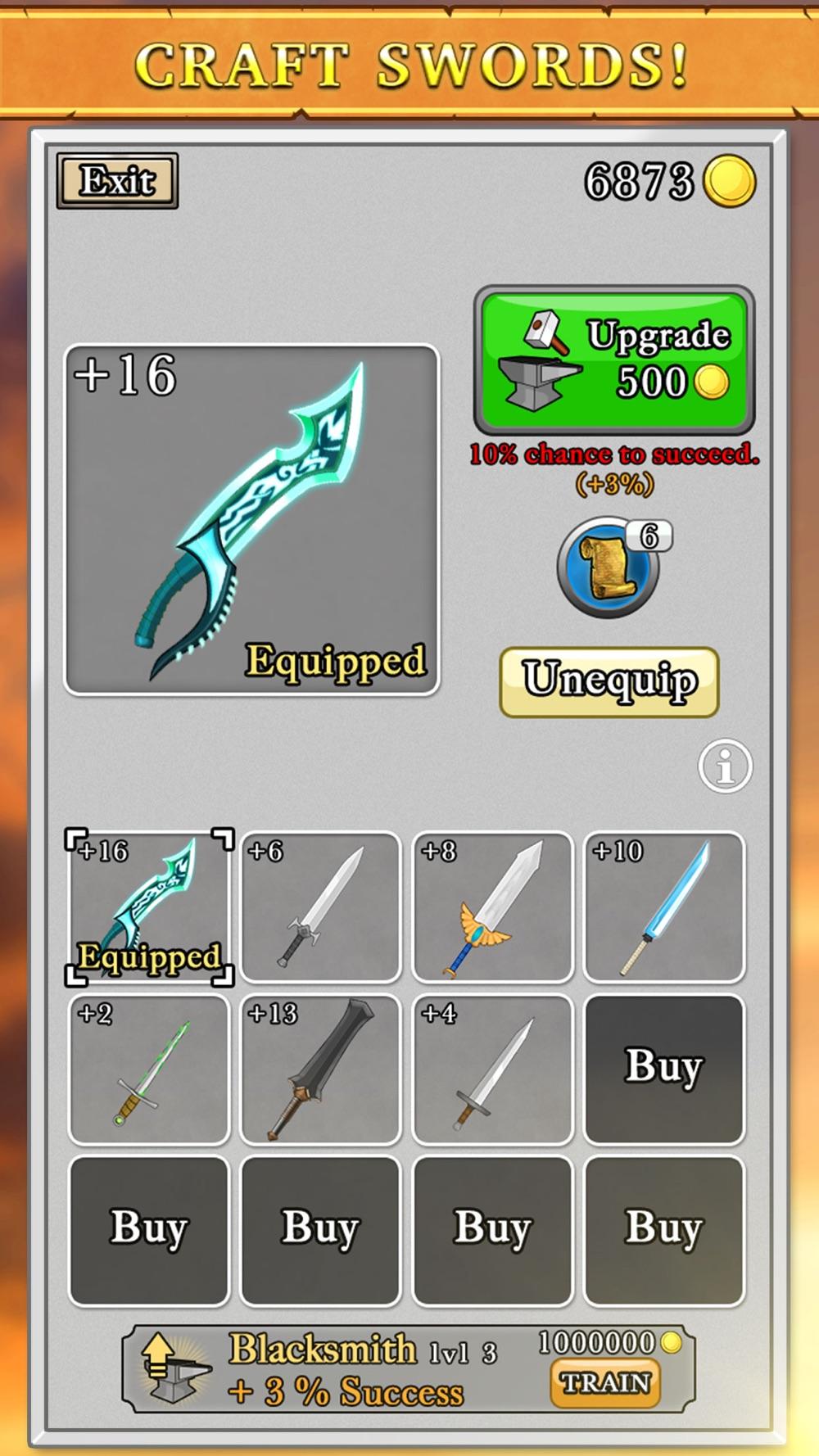 Sword King hack tool