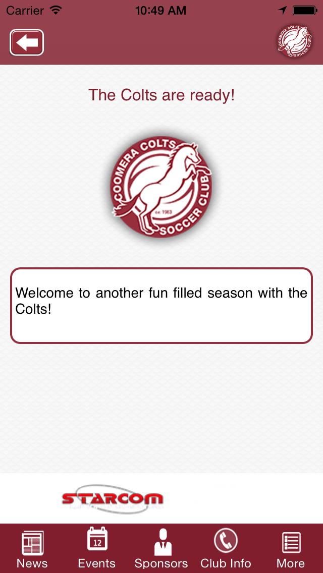 Coomera Colts Soccer Club screenshot three