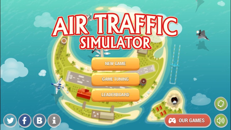 Air Traffic Control 2D screenshot-1