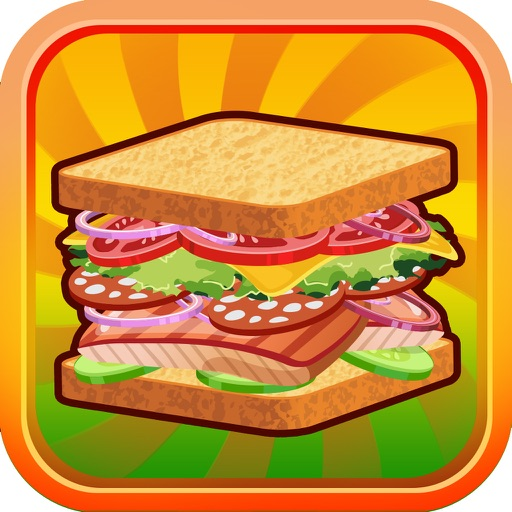 Sandwich Lunch Food Maker Mania - sim mama story & make cooking dash games for kids