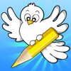 A Bird Coloring Book for Kids: Learn to Draw and Color Birds for Pre-School