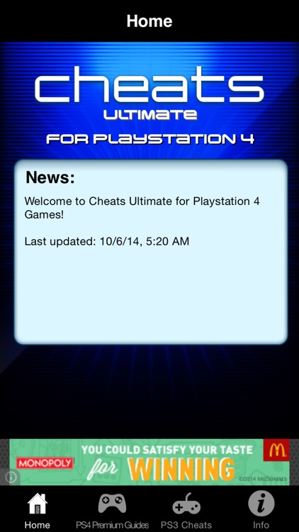 Cheats Ultimate for Playstation 4 Games - Including Complete Walkthroughs