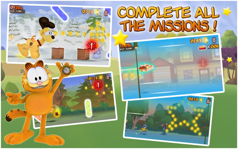 Garfield's Wild Ride. screenshot 3