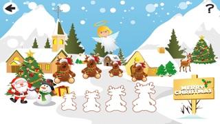 聖誕節兒童遊戲: 學進行比較和排序屏幕截圖4