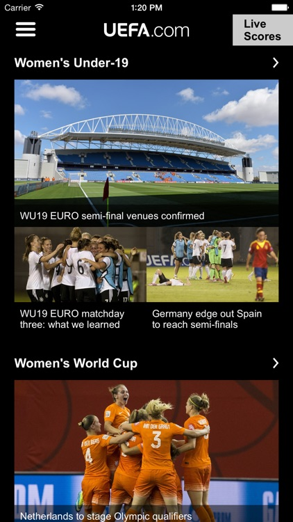 UEFA.com mobile screenshot-0
