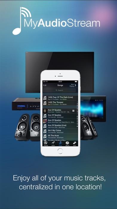 MyAudioStream Lite UPnP audio player and streamer by Arkuda