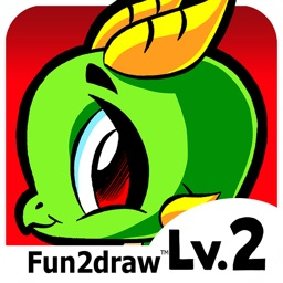 Learn to Draw - Draw and Color Cute Animals Cartoons - Drawing Apps - Fun2draw™ Lv2