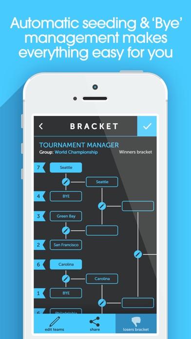 My Bracket Pro-トーナメント... screenshot1