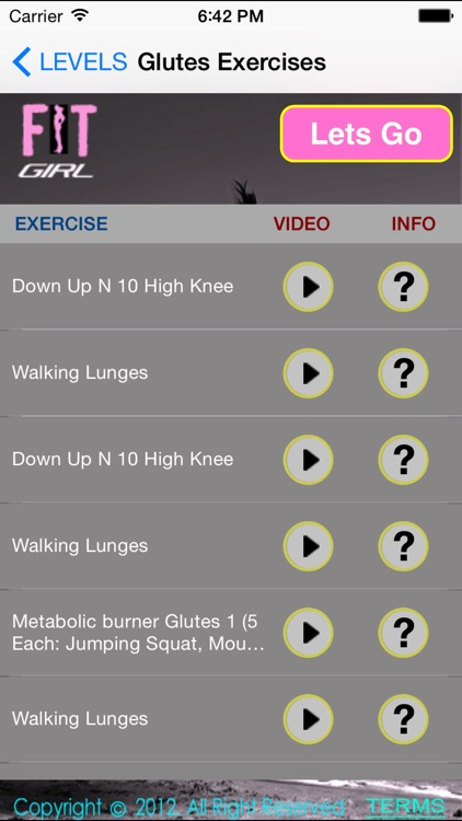 FitGirl Pro – Your Personal Cardio, Resistance and Workouts Trainer for Optimum Weight Loss, Muscle Strength and Staying Fit screenshot-2