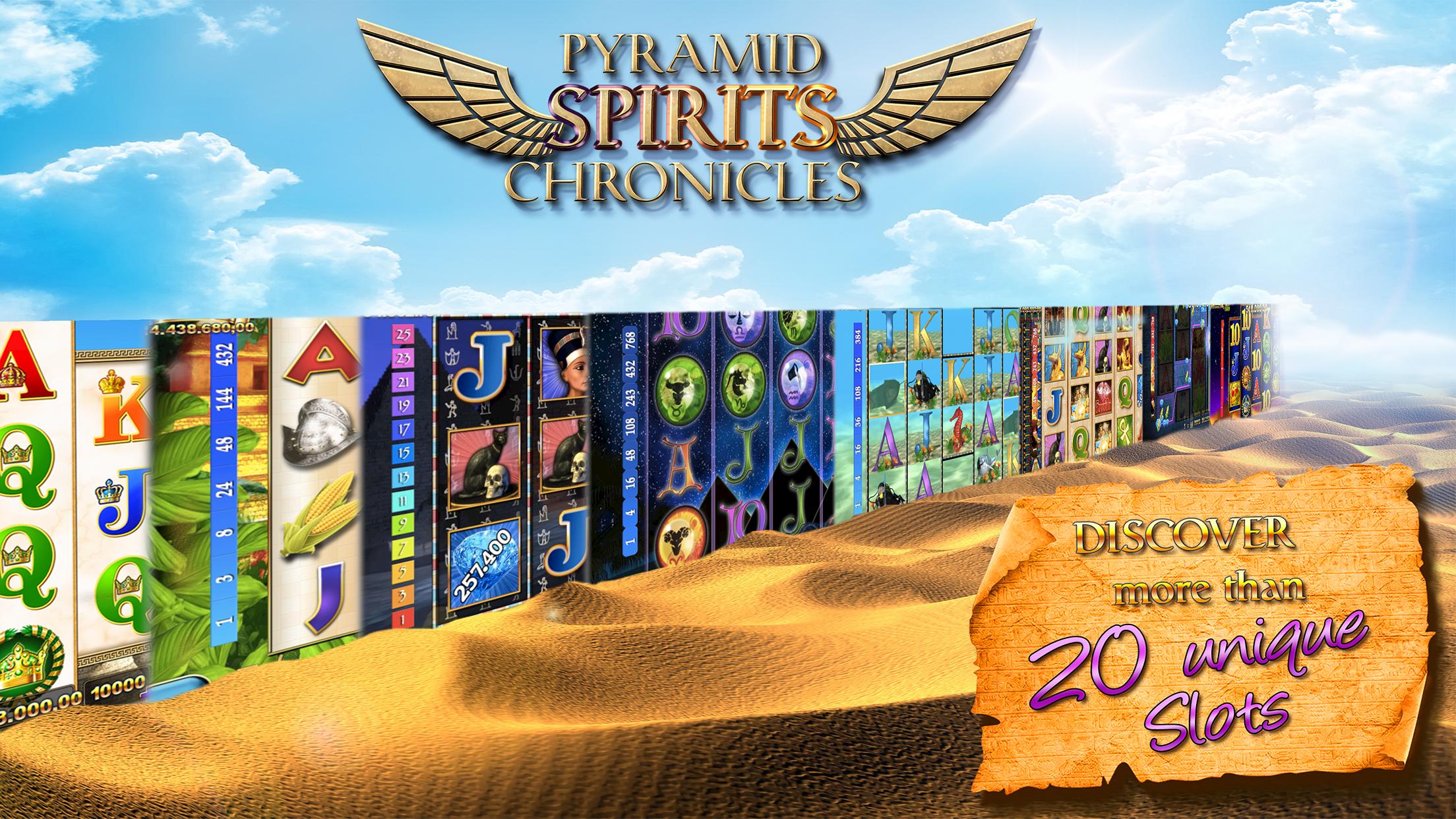 Slots - Pyramid Spirits 3 Screenshot