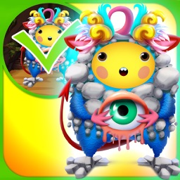 My Secret World Of Monsters Draw And Copy Club Game - Advert Free App