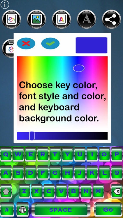 Bling Keys Free Custom Keyboard screenshot-0