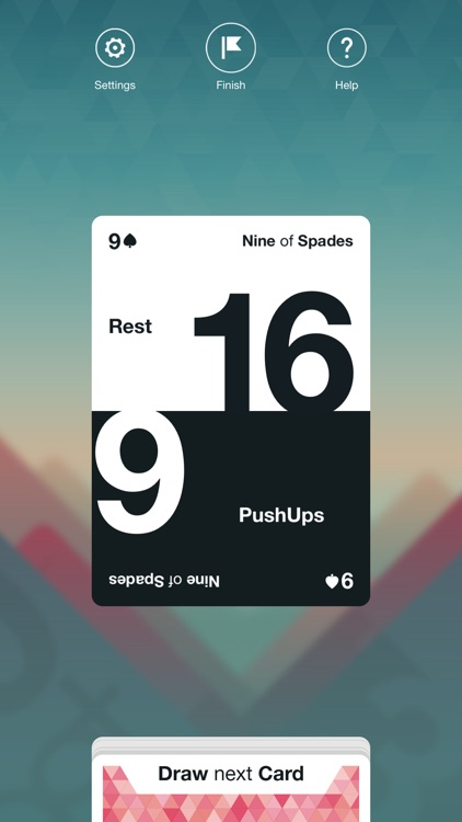 Fitness Spades: Bodyweight Challenge Game to help you burn fat with body shred workouts screenshot-3