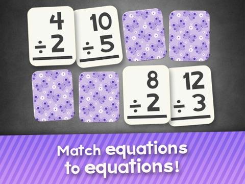 第2回で子供のための部門フラッシュカードマッチゲーム、3番目と4年生の学習フラッシュカード無料のおすすめ画像4