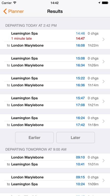 UK Train Times screenshot-4