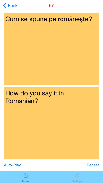 Romanian (Female) Quick Phrasebook - Basic Phrases with Audio screenshot-1