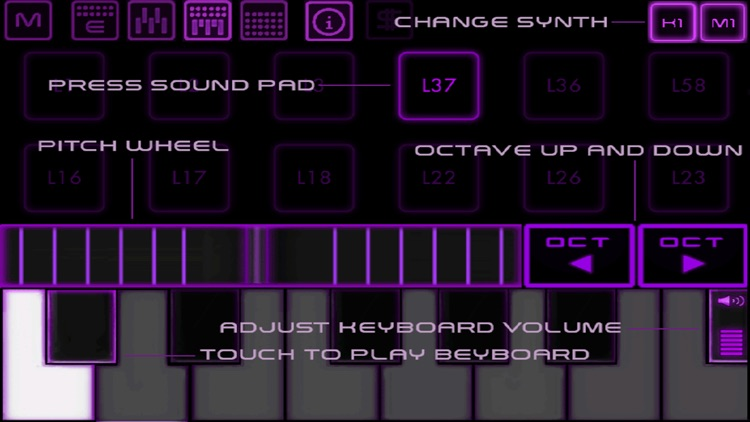 Bass Drop - Deep House - Electronic music sampler and synthesizer screenshot-3