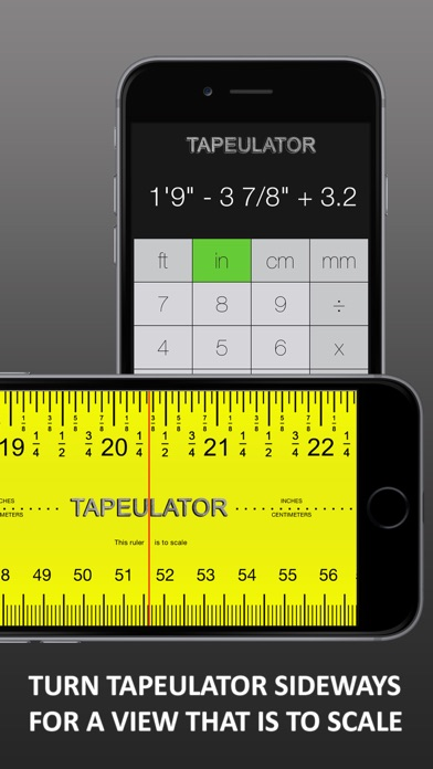 Tape Measure Calculator Pro review screenshots