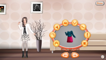Luck Star DressUp Game - Fashion Mania screenshot two