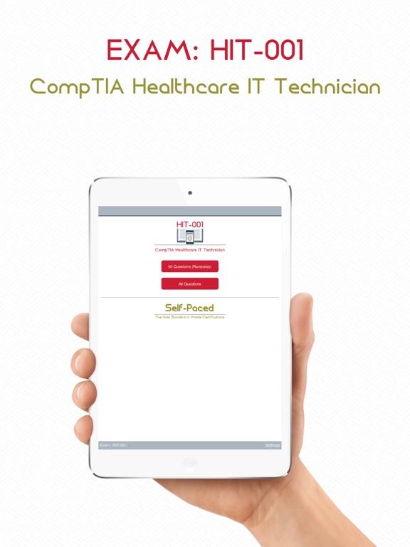 Screenshot #4 pour HIT-001 : CompTIA Healthcare IT Technician.