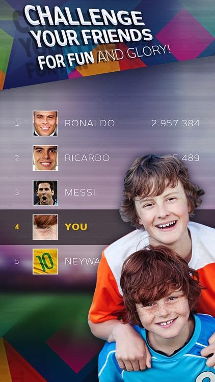 Free kick challenge - Copa America 2015 edition screenshot-4