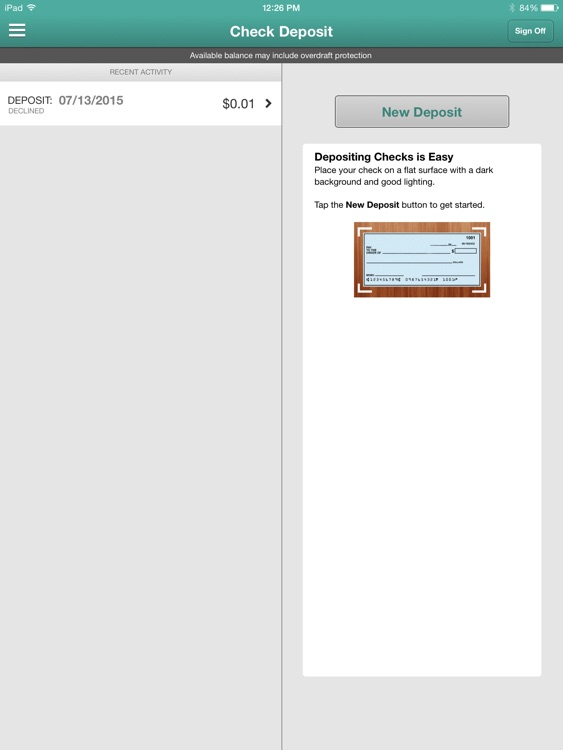 NCF Mobile Banking for iPad screenshot-3