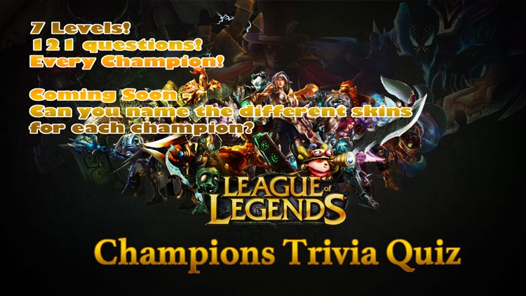 Trivia for League of Legends Fans: FREE quiz to name all lol champions screenshot-4