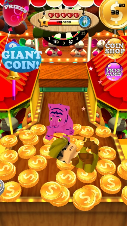coin party carnival dozer cheats