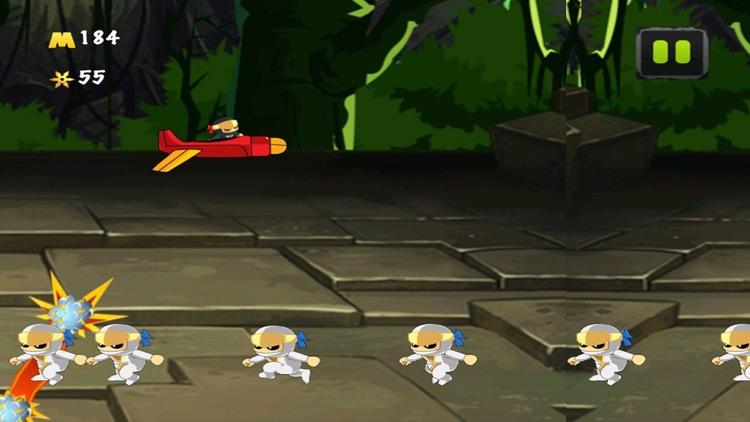 A Ninja Rocket Ride Running Jumping Flying Adventure screenshot-4