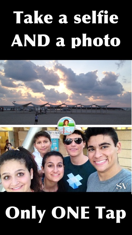 Frontback To The Future - Capture Your Selfie Vista (SV)