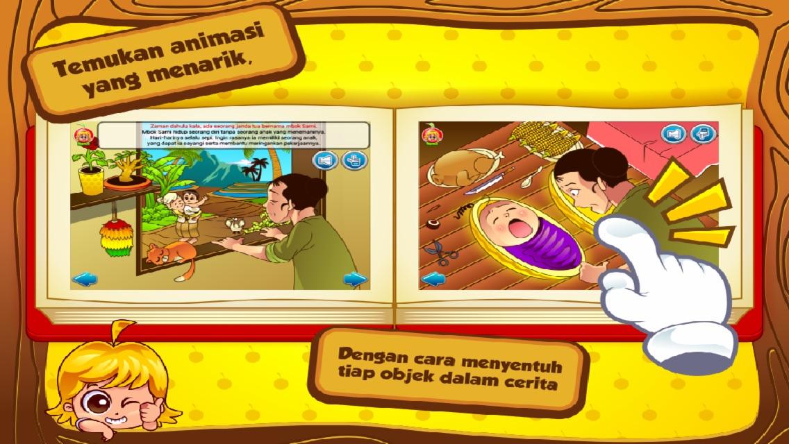 Cerita Anak: Kisah Timun Mas Screenshot