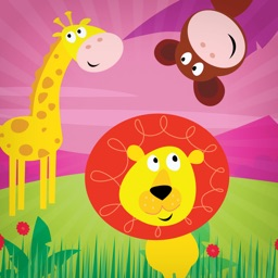 Animal Zoo Think & Learn - Brain School Practice Matching Play for Preschool Kindergarten & Pre K Kids