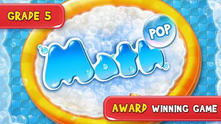 5th Grade Math Pop - Fun math game for kids