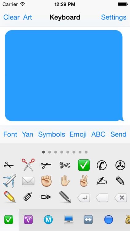 Symbol Keyboard Free - Unicode Symbols & Characters by Yajing Qian