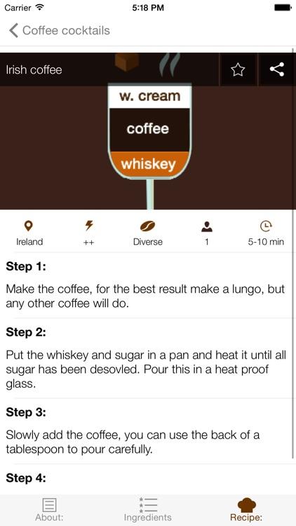 Cup of Joe - Complete coffee recipe guide screenshot-4