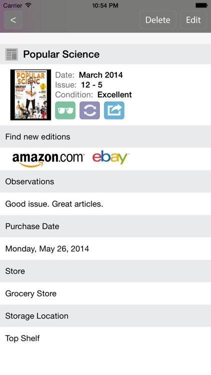 Magazines Collector screenshot-3