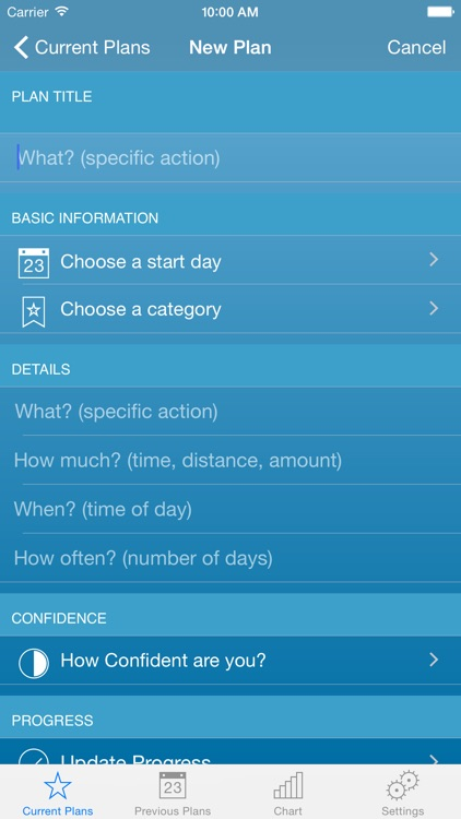 My Action Planner screenshot-2