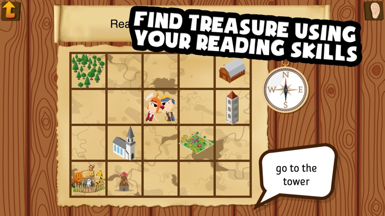 Pirate Phonics 3 : Kids learn to read! screenshot-4